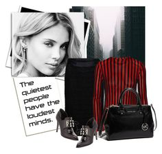"""""""Untitled #1295"""" by unagii ❤ liked on Polyvore featuring D&G, Balmain, Jason Wu and MICHAEL Michael Kors"""
