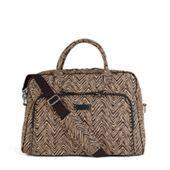 Weekender Travel Bag in Zebra | Vera Bradley