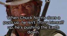 Chuck Norris facts never get old