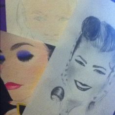 A few Zendaya drawings