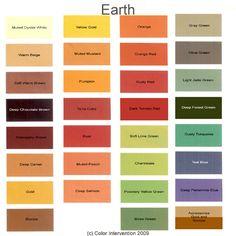 """Earth"" colors"