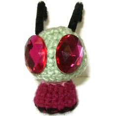Invader Zim Amigurumi by DuaeCat on Etsy Invader Zim Dib, Invader Zim Characters, All Things Cute, Cartoon Shows, Ship Art, Tmnt, Plushies, Crochet Projects, Geek Stuff