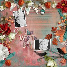 Personal Use :: Kits :: On the way to Fall [Page kit]
