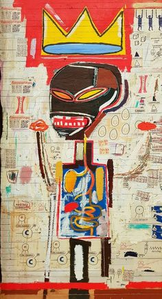 Jean Basquiat, Jean Michel Basquiat Art, Basquiat Paintings, Tableau Pop Art, Art Brut, Art Walk, Retro Wallpaper, Wow Art, Arte Popular