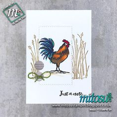 Home To Roost Stampin' Up! Order cardmaking products from Mitosu Crafts online shop Diy Cards Thank You, Home To Roost, Craft Online, Cardmaking And Papercraft, Fancy Fold Cards, Ink Pads, Hobbies And Crafts, Stampin Up Cards, Note Cards