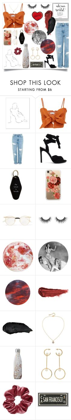 """power 4ever"" by kaaatrinaaa ❤ liked on Polyvore featuring Polaroid, Topshop, Kendall + Kylie, He Said, She Said, Casetify, Gucci, By Terry, Susan Caplan Vintage, S'well and Chloé"