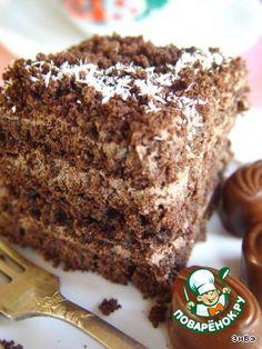 """Шоколадный торт """"Маркиз"""" - кулинарный рецепт"""