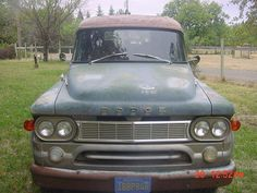 1965 dodge panel wagon truck, image 1
