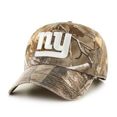 07ce2f2ef54 New York Giants Realtree Clean Up Realtree 47 Brand Adjustable Hat