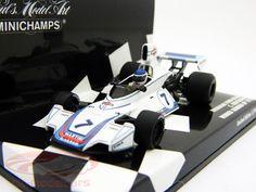 C.Reutemann Brabham Ford BT44B #7 Winner GermanGP formula 1 1975 1:43 Minichamps