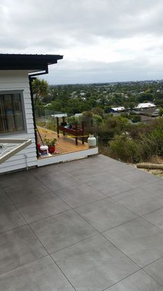 Exposed Aggregate Coloured Stamped Cut | Concrete Driveways