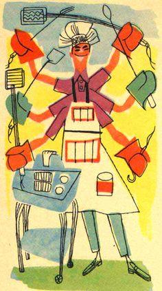 Now is forever — Sold Walt Disney Snow White Dairy. Vintage Illustration Art, Food Illustrations, Graphic Design Illustration, Vintage Art, Vintage Designs, Vintage Italian, Vintage Stuff, Retro Barbecue, Vintage Cooking