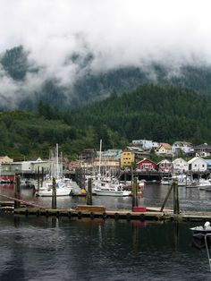 Ketchikan! Apparently their Xmas celebration is to die for :)