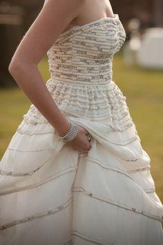 fantastic non-traditional wedding dress