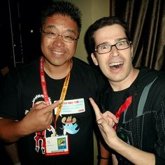 Partying it up at #comiccon w/ @ChrisPirillo #sdcc