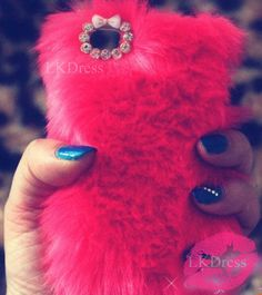 Furry Iphone case. Kinda ugly but pretty cool.
