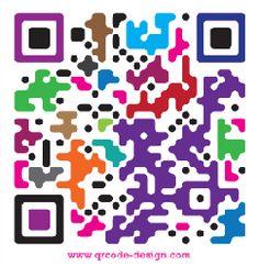 Colorful QR code design