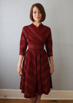 another wrap-top fogarty dress from the 50s