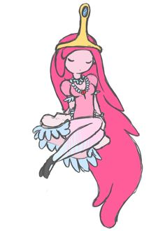 Princess Bubblegum from Adventure Time
