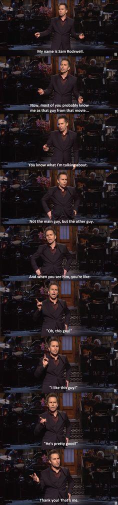 I love this man