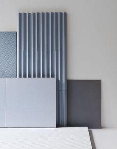 A Trio of Modern Tiles by Ronan & Erwan Bouroullec for Mutina