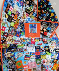 A personal favorite from my Etsy shop https://www.etsy.com/listing/237846045/i-spy-quilt-boys-large-look-quilt-with
