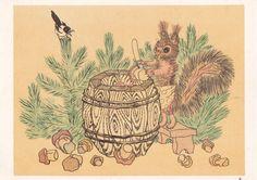 Postcard Illustration by Golubev  1964 от RussianSoulVintage