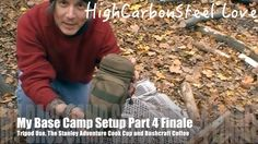 My Base Camp Setup Part 4 Finale | Tripod Use, The Stanley Adventure Coo...
