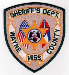 WAYNE COUNTY SHERIFF UTAH SHOULDER PATCH