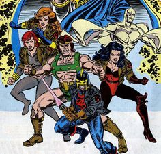 The Avengers in the 90's by Steve Epting