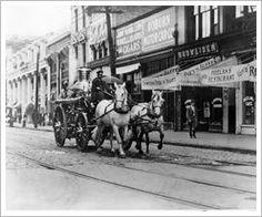 Norfolk Fire Department.  1911.