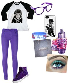 """""""Justin bieber outfit (:"""" by briannapaigeee ❤ liked on Polyvore"""