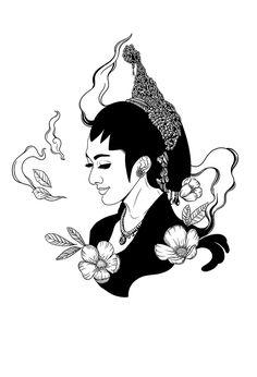 Bird Logos, Javanese, Cartoon Jokes, Traditional Design, Cyberpunk, Small Tattoos, Design Art, Behance, Fan Art