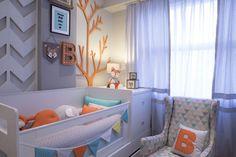 Sheron Menezzes apresenta o quarto do seu primeiro filho (Foto: Divulgação)
