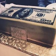 Image result for stack of money cake