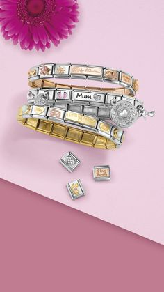 Gift ideas for her: jewelry for women - rings, bracelets Jewelry Art, Jewlery, Women Jewelry, Gifts For Your Girlfriend, Gifts For Her, Nomination Bracelet, I Love You Mum, Perfect Gift For Her, Special Gifts