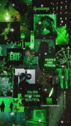 ☁️ GREEN AESTHETICS ☁️ CHECK OUT ALL