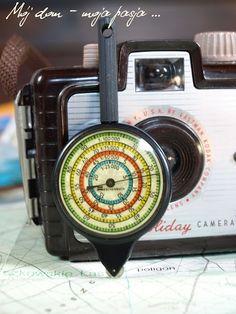 Krzywomierz Eschenbach, map, decor, vintage, range - finder, homew decor, tourist