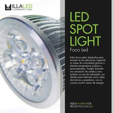Descripción de los Focos Led / Led Spot Light - ILLA LED