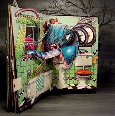 Children's pop up books | Jan Pienkowski Haunted House Children's Pop-Up Book pg 4 - a photo on ...
