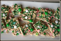 Magically Delicious Cereal Treats | Perfect for St Patricks Day!