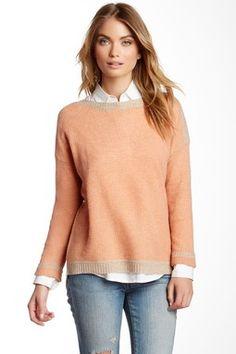 Kyla Cashmere Slash Neck Sweater