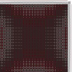 Hand Weaving Draft: ecw198632, Motif-On-Path Project, 8S, 8T - Handweaving.net Hand Weaving and Draft Archive