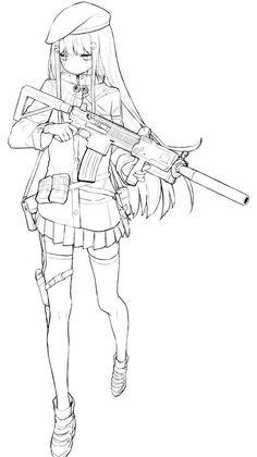 Introducing the re-representation of 21 year old ninja, Raven Grey : AnimeSketch Anime Drawings Sketches, Outline Drawings, Anime Sketch, Cute Drawings, Pencil Art Drawings, Drawing Base, Manga Drawing, Anime Lineart, Anime Poses Reference
