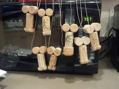 Cork Penis Necklaces! I made these for my girfriends Wine Tasting Bachelorette Party! sooo much fun!