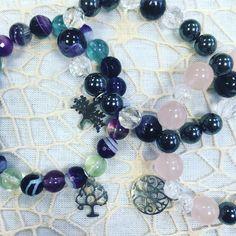 Léčivé naramky z polodrahokamů a minerálu #bracelets #naramky #preciousstones #handmadejewelry #sperky #drahekameny #ozdobenoodhanicky Beaded Bracelets, Jewelry, Fashion, Jewlery, Moda, Jewels, La Mode, Jewerly, Fasion