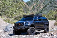 toyota tundra roof rack with lights - Google Search