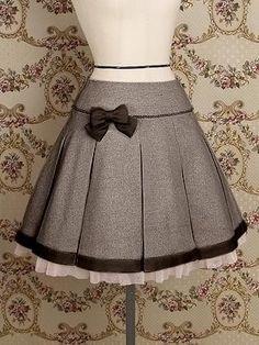 such a pretty skirt - Mary Magdalene / Skirt / Emmanuel Skirt Cute Skirts, Cute Dresses, Vintage Dresses, Vintage Outfits, Girls Dresses, Lolita Fashion, Girl Fashion, Fashion Dresses, Fashion Design