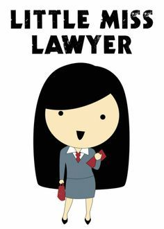 Little miss lawyer to be