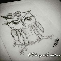 Perfeita Owl Tattoo Drawings, Tattoo Sketches, Owl Tattoo Design, Tattoo Designs, Owl Tattoo Chest, Funny Owl Pictures, American Indian Tattoos, Girl Drawing Sketches, Body Art Tattoos